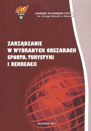 Zarządzanie w wybranych obszarach sportu, turystyki i rekreacji